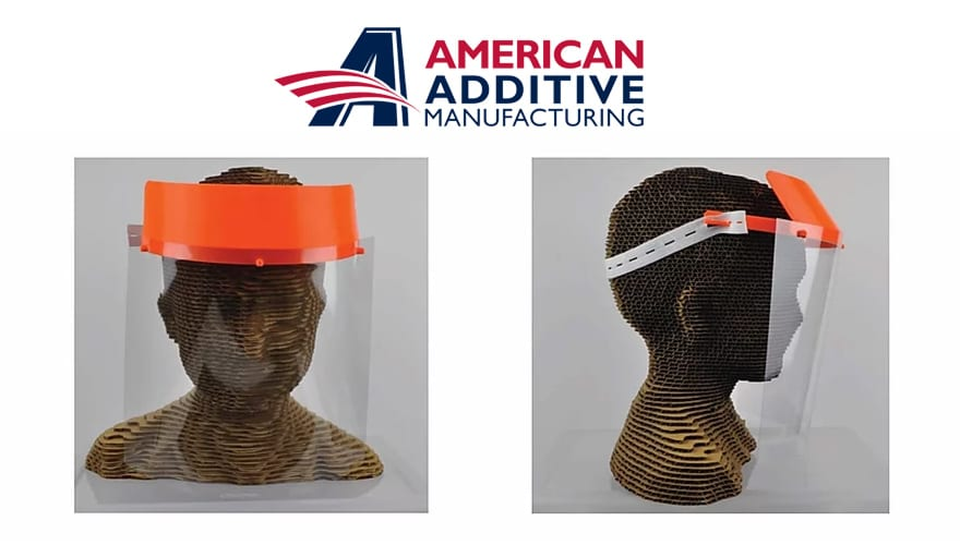 American Additive Manufacturing shifted its operations to make 3D printed materials and masks for PPE.