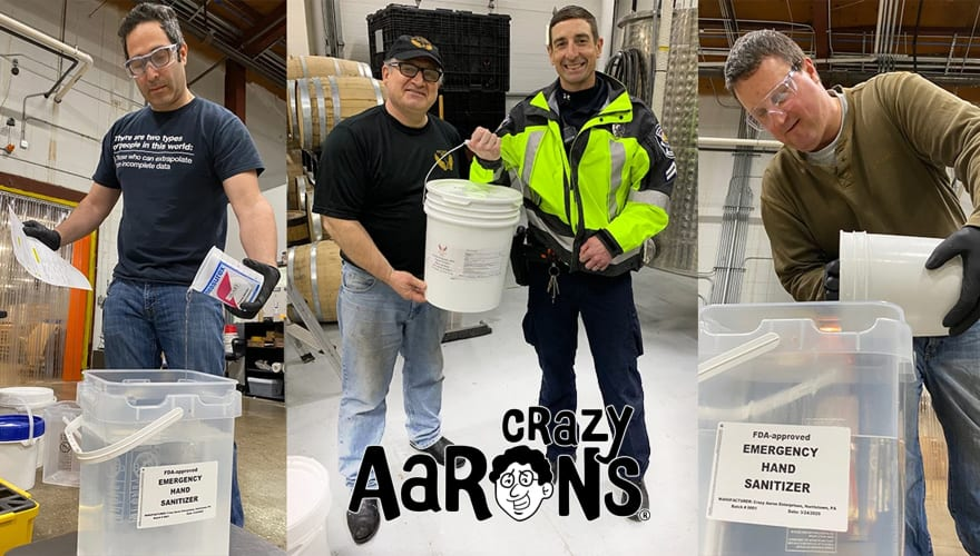 Crazy Aaron's pivoted from making toy putty to manufacturing hand sanitizer for hospitals, first responders, and others. They have also been working with DVIRC, which has created a Supply Chain portal to identify suppliers/manufacturers of critical needs equipment.