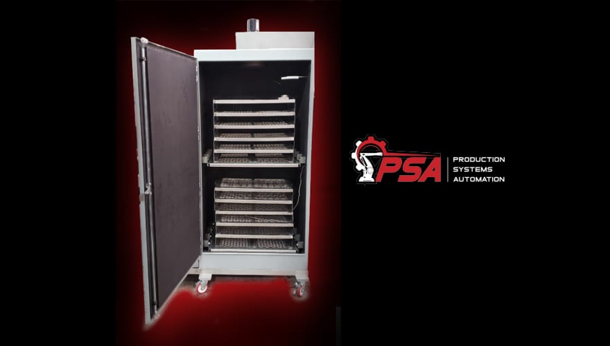 Product Systems Automation has a bedbug disinfectant machine which they pivoted on to disinfect N95 masks and have an order in for Massachusetts General Hospital.