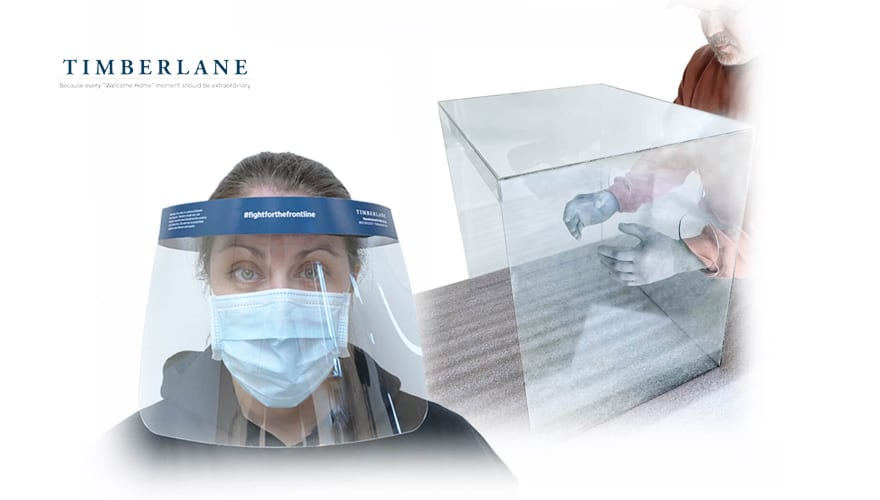 Timberlane revamped its production from wooden shutters for homes to producing face and intubation shields for medical professionals. They have also been working with DVIRC, which has created a Supply Chain portal to identify suppliers/manufacturers of critical needs equipment.